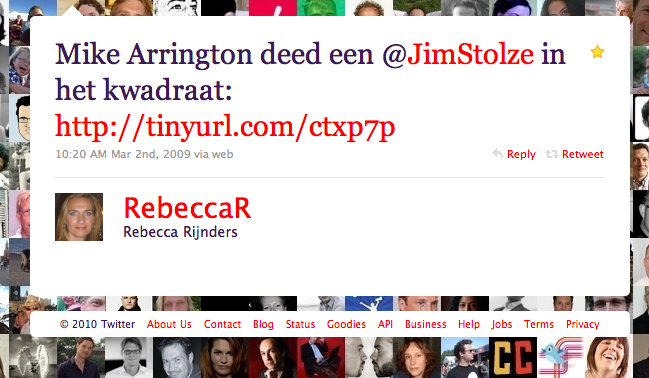 Rebecca Rijnders over Michael Arrington