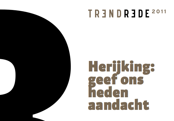 Aandacht in de Trendrede